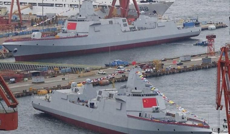 China set to showcase game-changing warship at navy parade