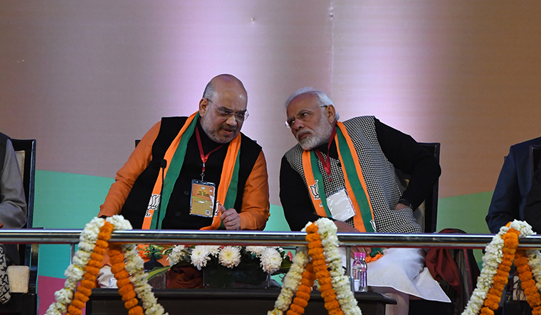 BJP releases LS candidate list; Shah to contest in place of Advani, Gadkari gets Nagpur