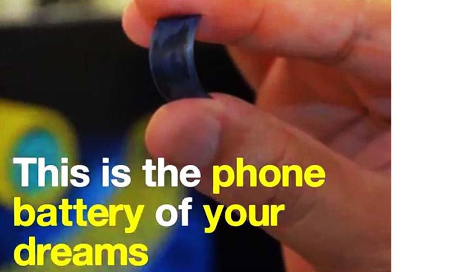Phone batteries may give way to supercapacitors