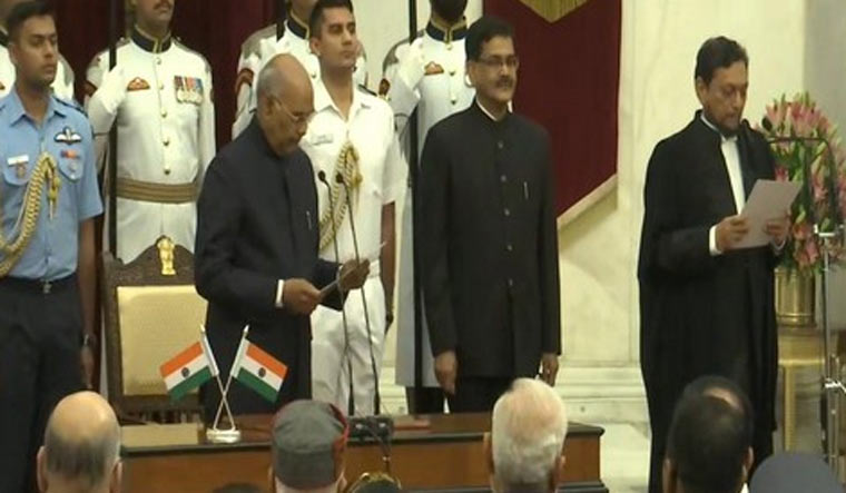 Sharad Arvind Bobde sworn in as 47th chief justice of india