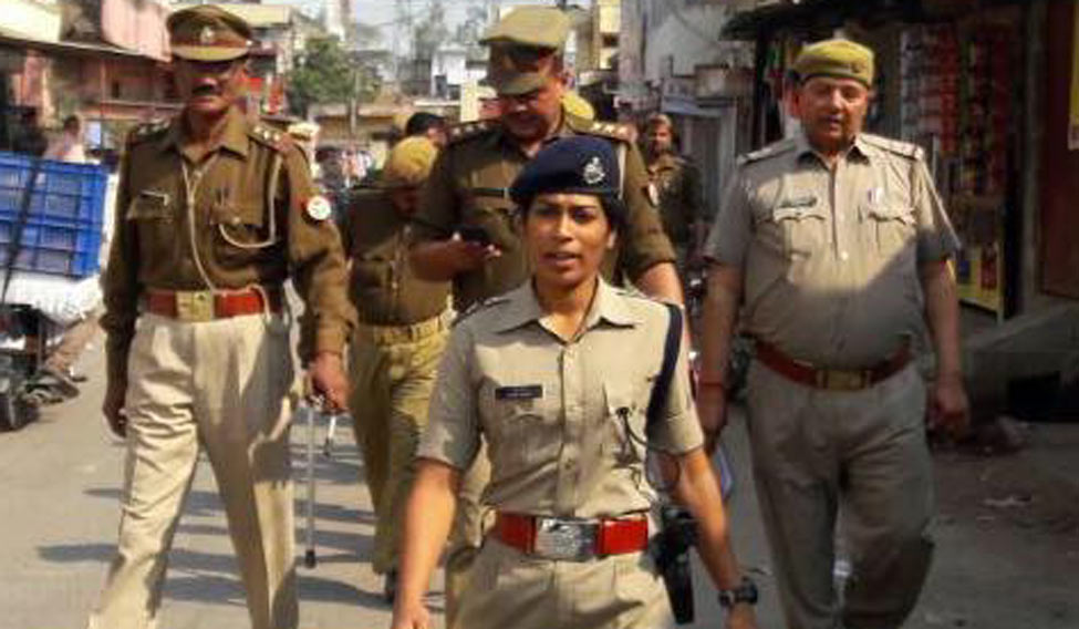 Woman IPS officer reduced to tears by BJP MLA in UP