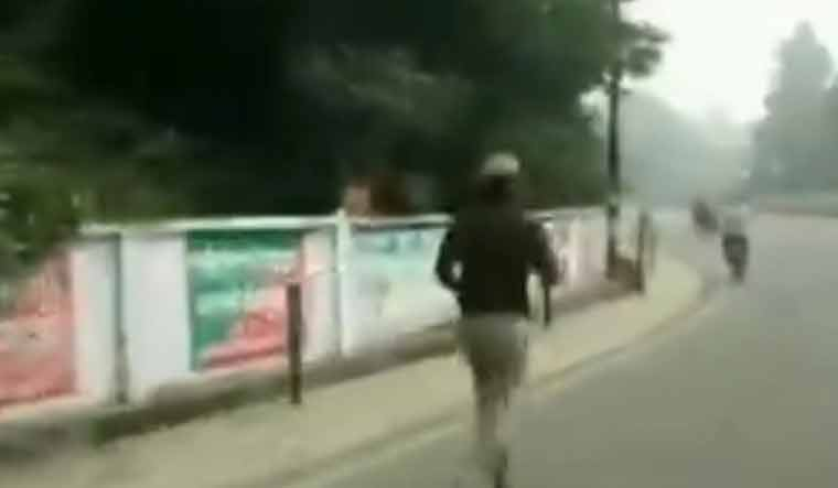 Watch video: To protest his transfer, UP cop runs 65km; faints midway