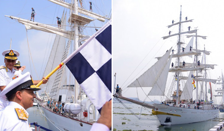 Indian Ocean naval conclave ends on grand note with tall ships' voyage
