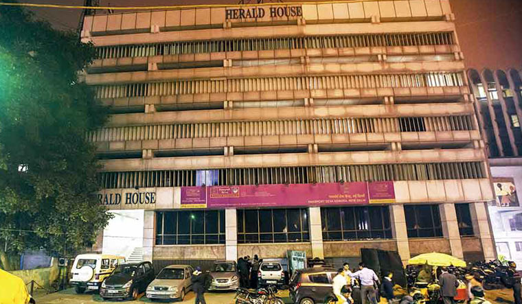 National Herald case: Centre begins eviction of Herald House