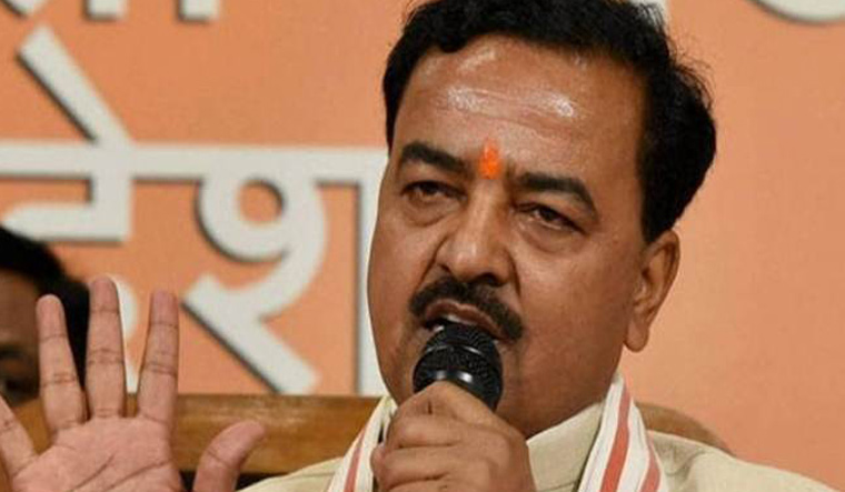 Pressing lotus button would mean dropping bomb on Pakistan, says UP DyCM