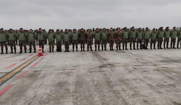 Flipboard India China Resume Annual Military Exercise To Fight