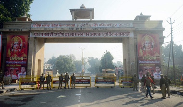 VHP denied permission to light lamps at Ayodhya disputed land on Diwali