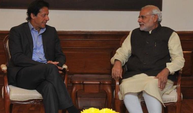 PM Modi, Imran Khan exchange pleasantries during SCO Summit in Bishkek