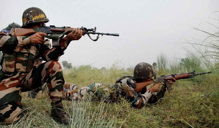 Soldier killed as Pakistan army violates ceasefire along LoC