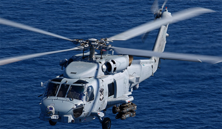 US approves sale of 24 MH-60R anti-submarine helicopters to Indian Navy