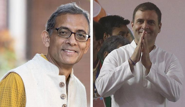 Rahul Gandhi highlights Abhijit's 'Nyay' connection while congratulating him on Nobel