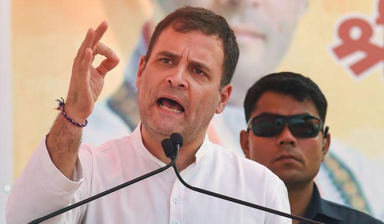 Modi is a 'loudspeaker' of rich businessmen, says Rahul in Haryana