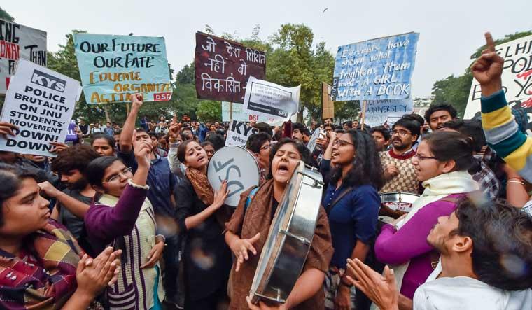 JNU protests: Varsity invokes rulebook as exam begins on Dec 12