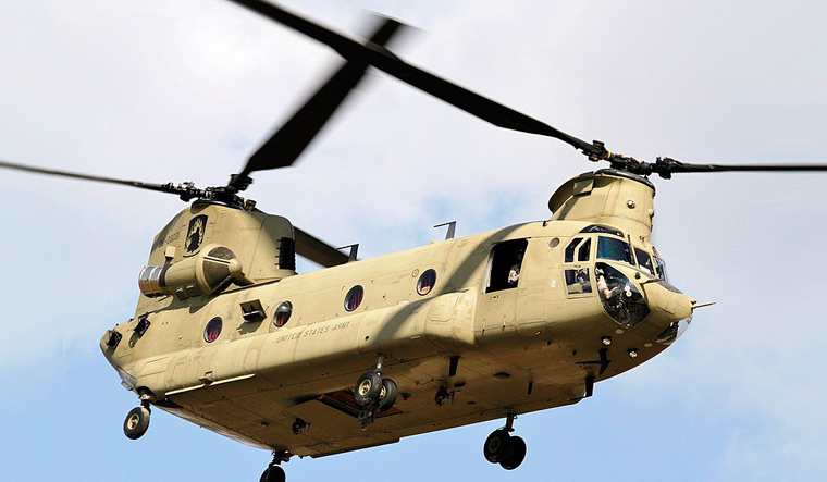 IAF set to induct Chinook heavy-lift helicopters to strengthen border operations