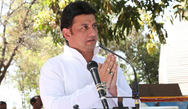 Days after Congress leader's son joined BJP, former NCP MP goes saffron