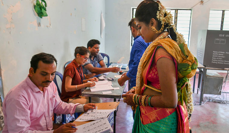 66% turnout recorded in second phase of Lok Sabha polls