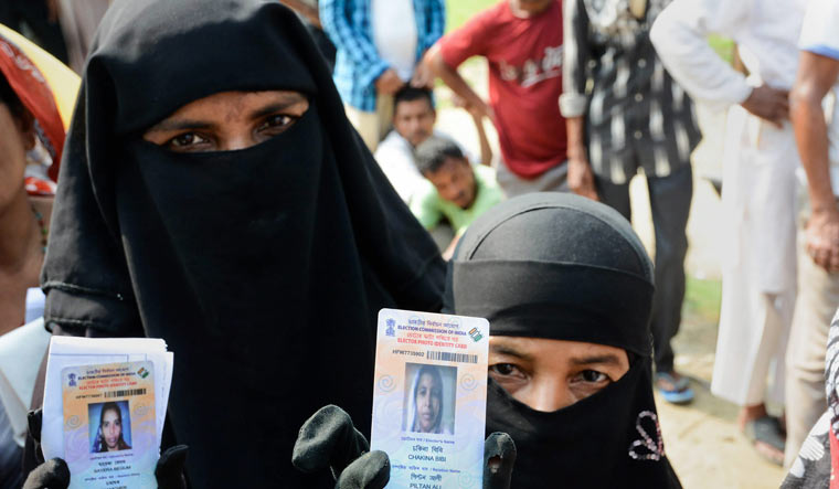 One more BJP MP claims women in burqas casting fake votes