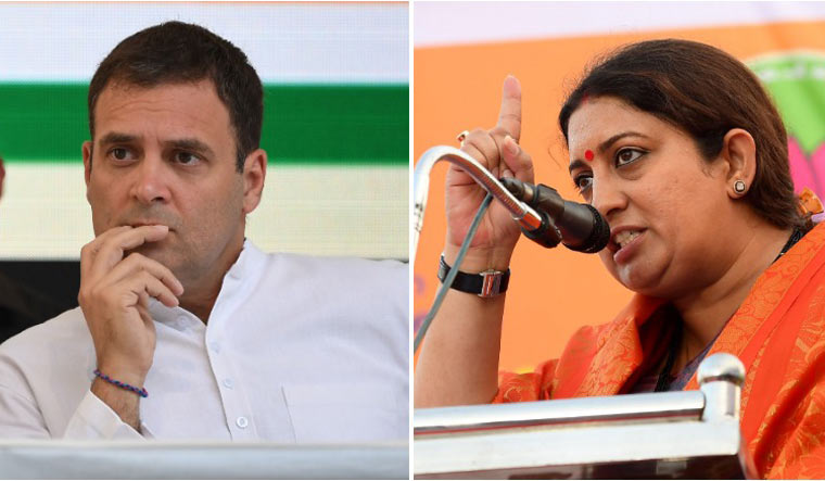 Smriti Irani to construct her own home in Amethi, drawing comparisons to Rahul Gandhi
