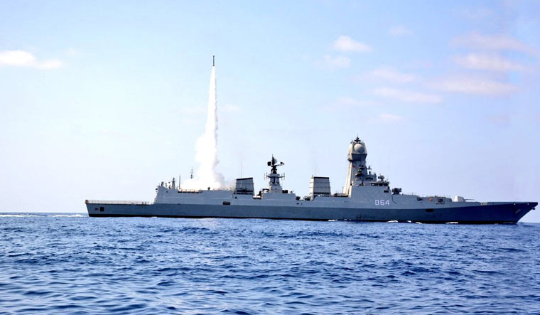 India, Israel carry out unique 'cooperative' naval missile test