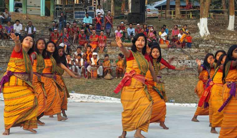 Mob tries to force woman dancers to strip at cultural event in Assam