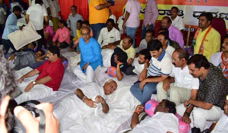 Kumaraswamy govt refers JSW land sale to cabinet panel amid BJP protests