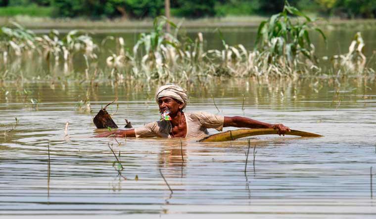 Death toll due floods in Assam, Bihar nears 150; over 1.15 crore affected