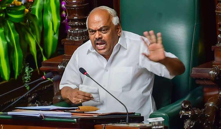 Karnataka crisis: Speaker adjourns assembly till Monday