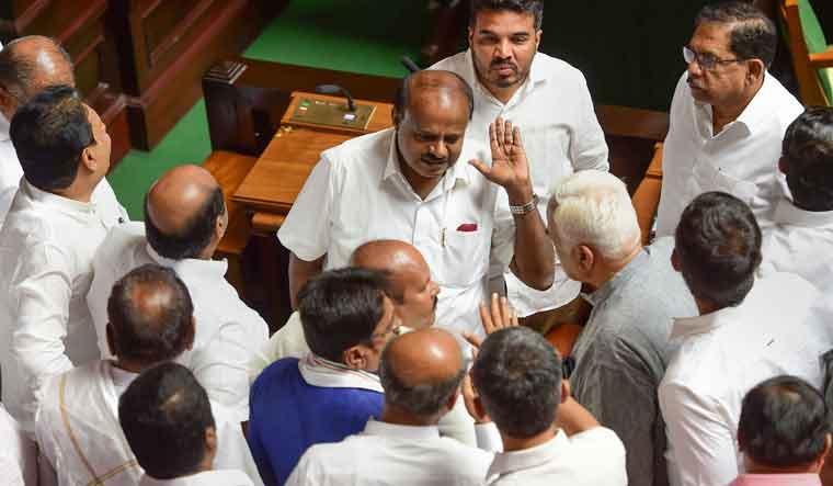 Karnataka governor Vajubhai Vala sets second deadline for 6pm today