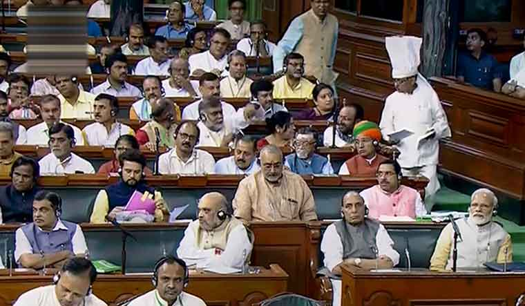'Govt mulling extension of current Parliament session by 2-3 days'