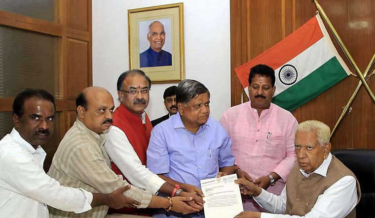 Karnataka: Prove majority before 1.30pm today, governor tells Kumaraswamy