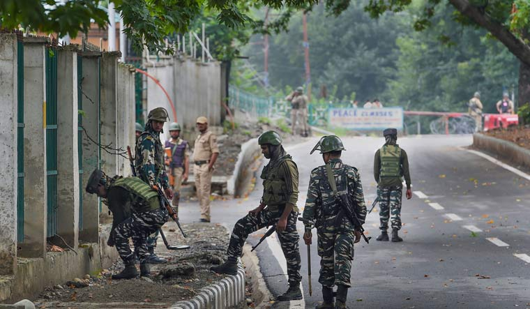 Hundreds of protesters clash with police in Kashmir: Report