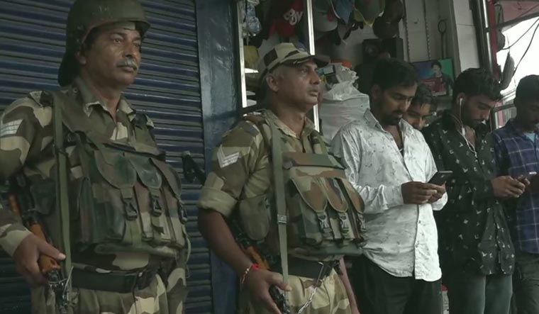 Kashmir valley: Curbs on movement of people eased, security still tight