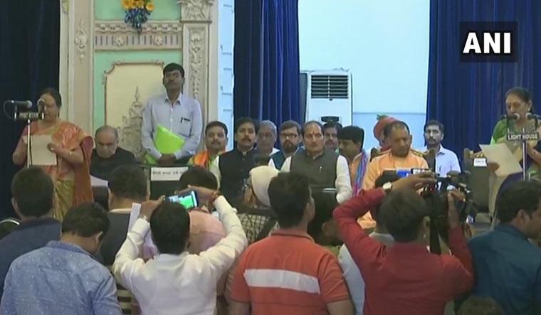 Uttar Pradesh: 23 ministers take oath as Yogi expands cabinet