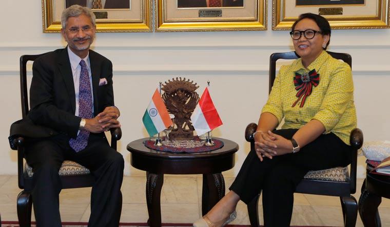 Jaishankar holds bilateral talks with Indonesian counterpart
