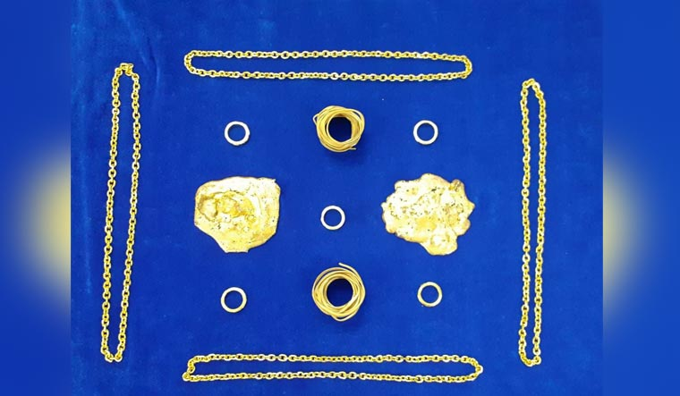 Customs seize 3.14kg gold at Chennai airport; two held