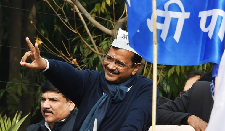 AAP reveals 3-tier election campaign plan, with Kejriwal as mascot