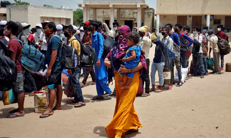70 per cent of India's COVID-19 cases from 30 districts, says data tracker site