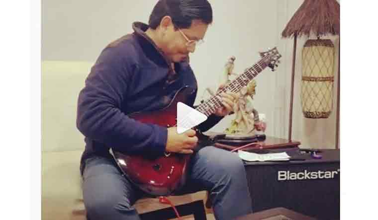 Video of Meghalaya CM Conrad Sangma playing the guitar is a social media hit