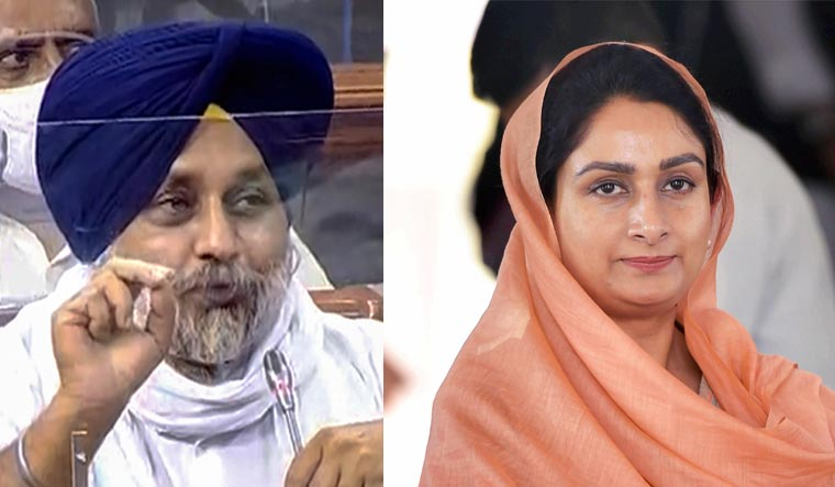 Akali Dal attempts to regain lost ground in Punjab with Harsimrat's resignation