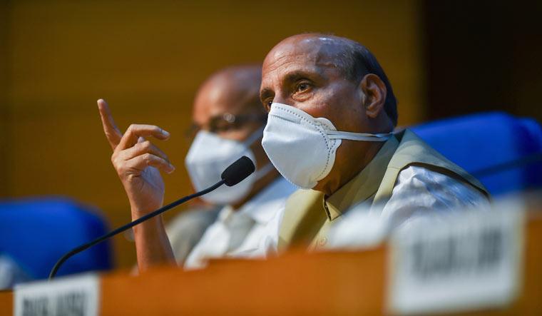'Shameful' display by Opposition, says Rajnath after Rajya Sabha ruckus