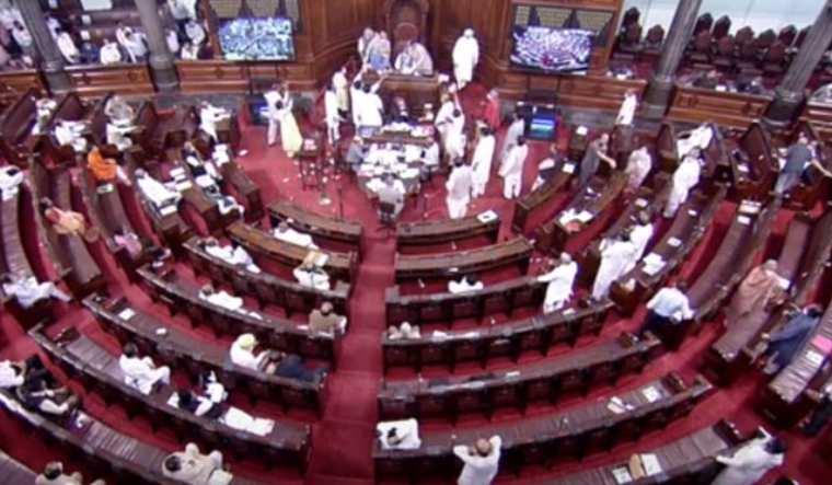 'Black day in history,' says Congress after Rajya Sabha passes farm bills