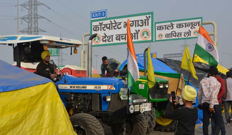 Protesting farmers to march towards Parliament on budget day