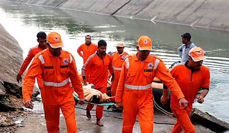 20 women, 2 kids among 47 dead as bus falls into canal in MP