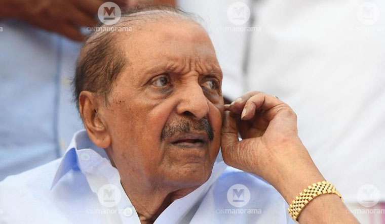 Kerala Congress (B) chairman Balakrishna Pillai passes away