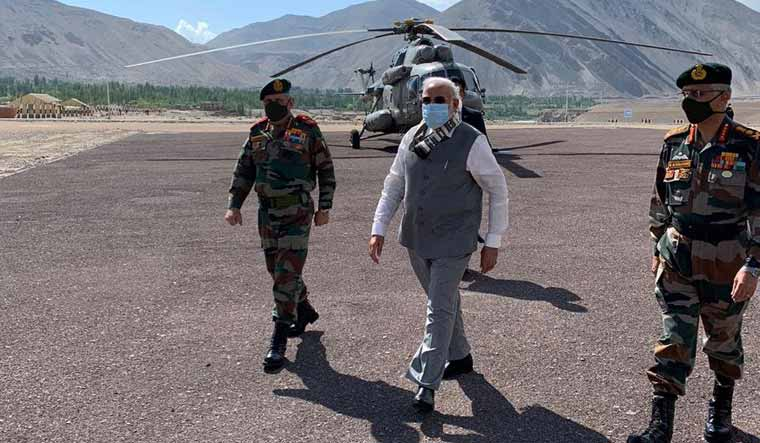 In a surprise move, Prime Minister Narendra Modi arrived in Leh on Friday as the Ladakh region witnesses a massive military standoff with China after