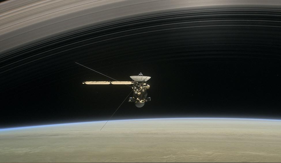 NASA's Cassini probe completes final Titan flyby