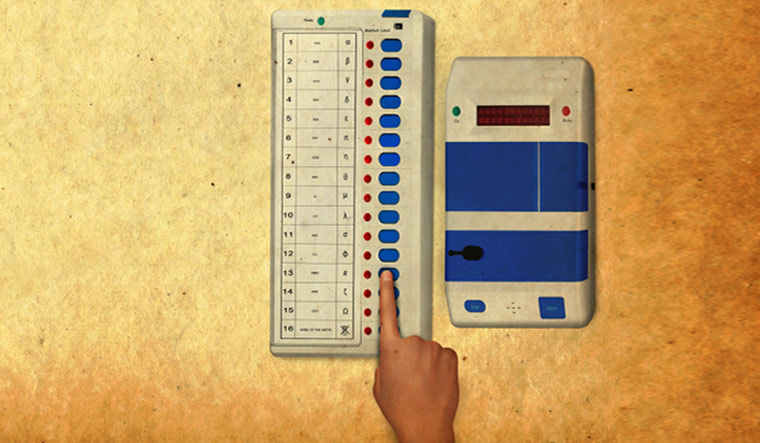 Polling for urban local bodies in Telangana underway