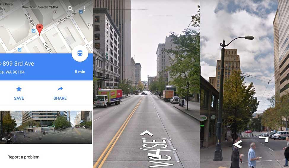 Add your pics to Street View app