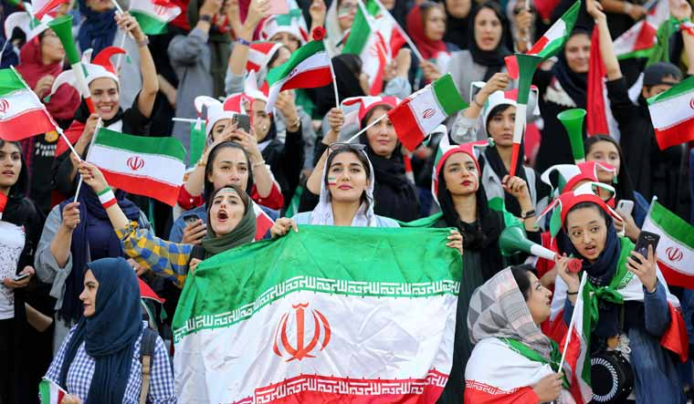 Iran athletes warned over female fans   The Times of Israel