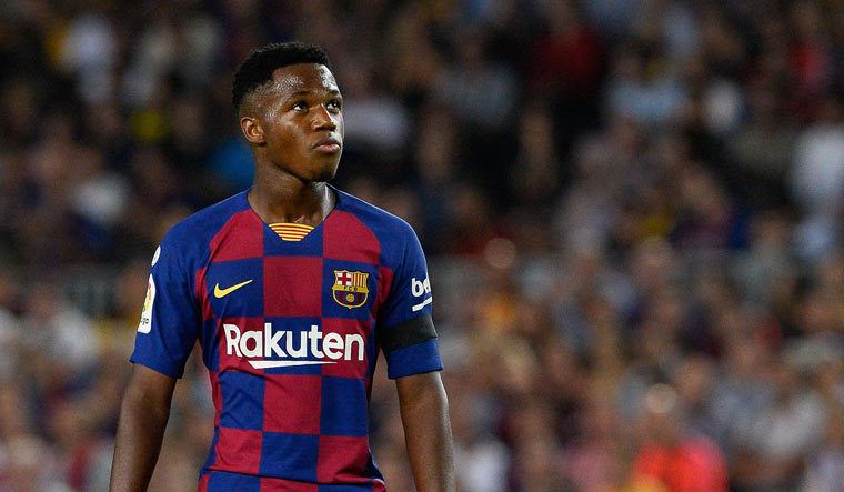 Ansu Fati―the 16-year-old who has taken Barcelona by storm ...